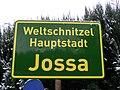 Weltschnitzelhauptstadt Jossa.JPG