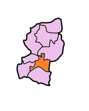 West Garo Hills district - Image: West Garo Hills Subdivisions Gambegre