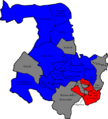 West Lancashire 2006 election map.png