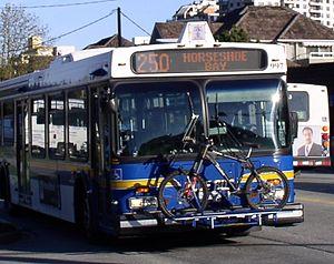 West Vancouver Municipal Transit - Image: West Vancouver Blue Bus 997