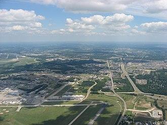 Fairborn, Ohio - Aerial view of Fairborn