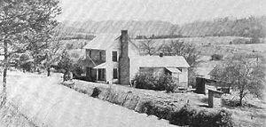 Wheat, Tennessee - Farmhouse in Wheat