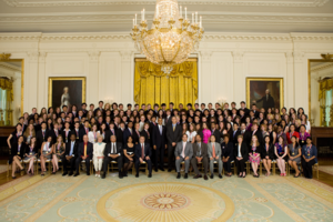 Presidential Scholars Program - 2010 Presidential Scholars with President Barack Obama