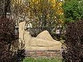 Wien-Penzing - Baumgarten - Plastik Sphinx von Hilde Uray.jpg