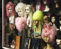 Wig shop window in downtown San Francisco, California LCCN2010630850.tif