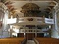 Wiggensbach Kirche Empore - panoramio.jpg