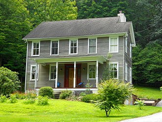 Pocopson Township, Chester County, Pennsylvania - The Wilkinson House, a historic site in the township