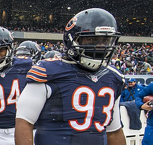 Will Sutton - Sutton playing for the Bears in 2014.