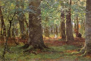 Willem Bastiaan Tholen - Image: Willem Bastiaan Tholen Zomerdag in het bos