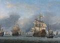 Willem van de Velde (II) - De verovering van het Engelse admiraalschip de 'Royal Prince'.jpg