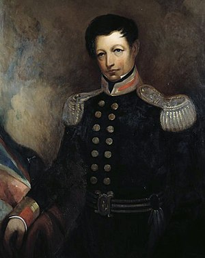 Colony of New Zealand - William Hobson, the first Governor of New Zealand and co-author of the Treaty of Waitangi