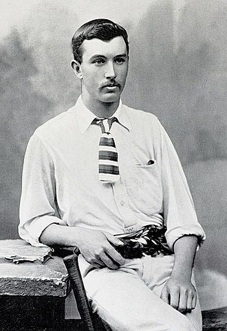 William Bruce (cricketer) - Image: William Bruce cricketer c 1895