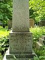 William Flockhart grave front plinth.jpg