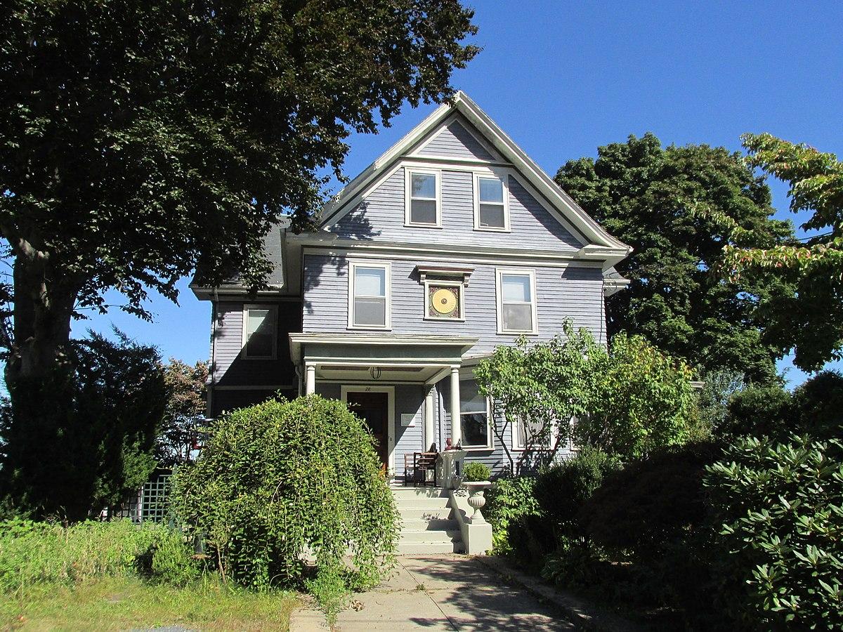 Edgewood Historic District Taft Estate Plat Wikipedia