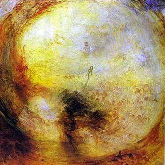 Frankfurt art theft (1994) - Light and Colour (Goethe's Theory) by J. M. W. Turner, 1843
