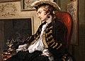 William hogarth, marriage a-la-mode, 1743 ca., 02 il tete-à-tete 8.jpg