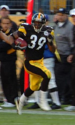 Willie Parker - Parker with the Pittsburgh Steelers