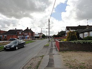 Durrington, Wiltshire - Image: Windsor Road, Durrington