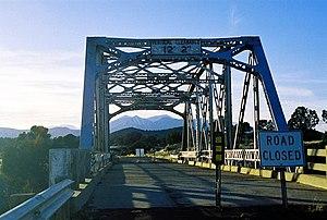 Winona, Arizona - Winona Bridge, no longer accessible by car