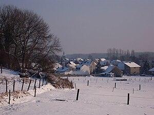 Affligem - Image: Winters zicht op Teralfene