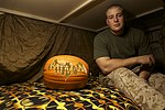 Wisconsin Marine brings spirit of Halloween to Afghanistan 111026-M-PH863-003.jpg