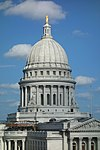 Wisconsin State Capitol dome - Madison, WI - DSC02746.JPG