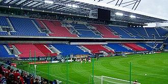 Stadion Miejski, Kraków - West stand