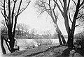 Woman, landscape, river, shore Fortepan 8108.jpg
