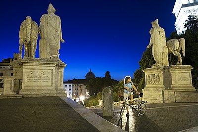 Rome with a bike