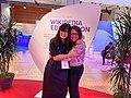 Women's Forum Global Meeting 2019 Wikipedia edit-a-thon 07.jpg