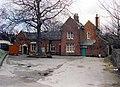 Woodley station - street frontage - geograph.org.uk - 828161.jpg