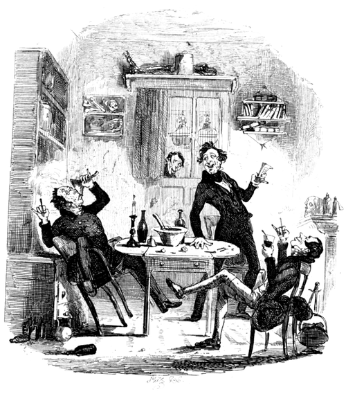 Works of Charles Dickens (1897) Vol 2 - Illustration 6