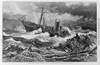 SS <i>Tararua</i> ship