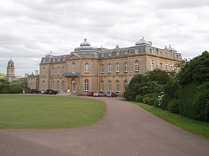 Silsoe - Wrest Park House, formerly home to research laboratories, now looked after by English Heritage