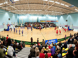 Manchester Giants - Wright Robinson College arena