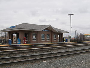 Wrightwood station (Metra) - Image: Wrightwood Metra Station