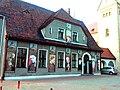 Wrocław - Brochów, kościół św. Jerzego Męczennika i Podwyższenia Krzyża Świętego we Wrocławiu, dom kościelny.jpg