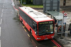 X26 London bus route.jpg