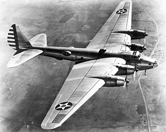 Boeing XB-15 - XB-15 on a test flight