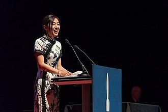 Xia Jia - Xia Jia at the Hugo Award Ceremony at Worldcon in Helsinki.