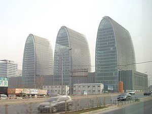Xizhimen - Office Building over Xizhimen Subway Connection