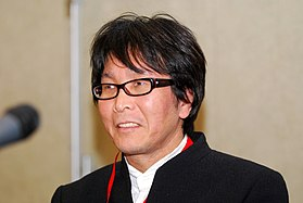 Yōichi Takahashi at Lucca Comics & Games 2011