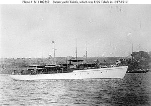 USS Talofa (SP-1016) - Image: Yacht Talofa