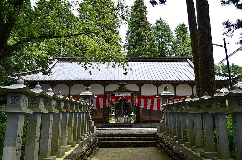 Yamamiya-sengen-jinja haiden