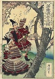 Ukiyo-e de Yoshitoshi Tsukioka, 1885