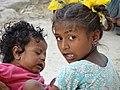 Youngsters in Courtyard - Lumbini - Nepal (13871128894).jpg