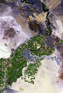 Gila River Valley valley in Arizona, United States of America