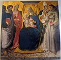 Zanobi machiavelli, madonna in trono col bambino e santi, 1476-75 ca..JPG