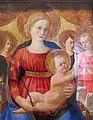 Zanobi strozzi, madonna col bambino, quattro angeli e il redentore, 1450 ca. 04.JPG