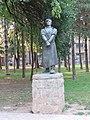 """Zemun, spomenik """"Talac"""" rad vajara Borisa Kalina 01.jpg"""